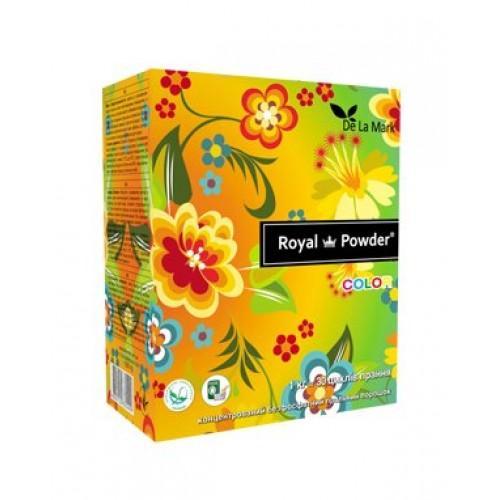 Пральний порошок для кольорових речей Royal Powder Color DeLaMark 1кг