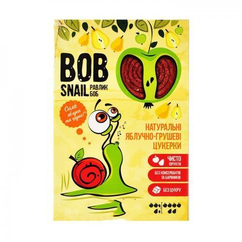 Конфеты натуральные Яблочно-грушевые Bob Snail - Равлик Боб 60г
