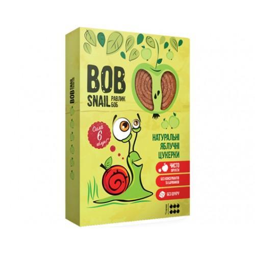 Конфеты натуральные Яблочные Bob Snail - Равлик Боб 60г