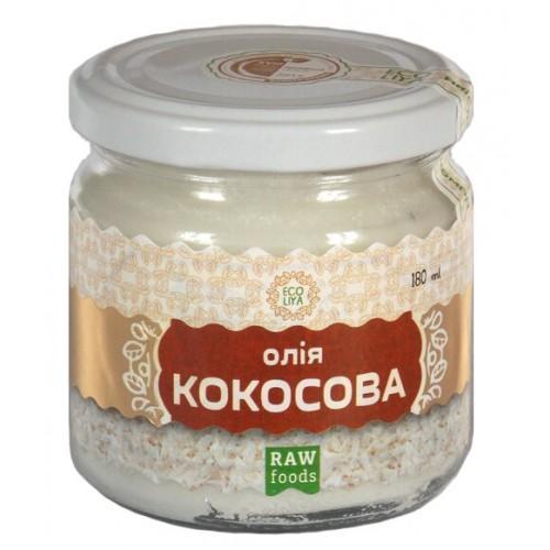 Масло кокосовое  Еколія 180мл