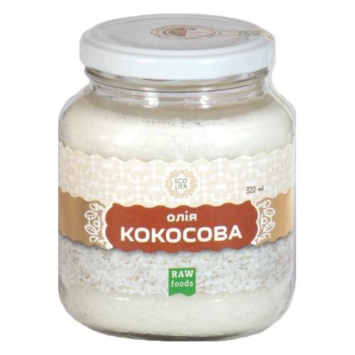 Масло кокосовое  Еколія 300мл