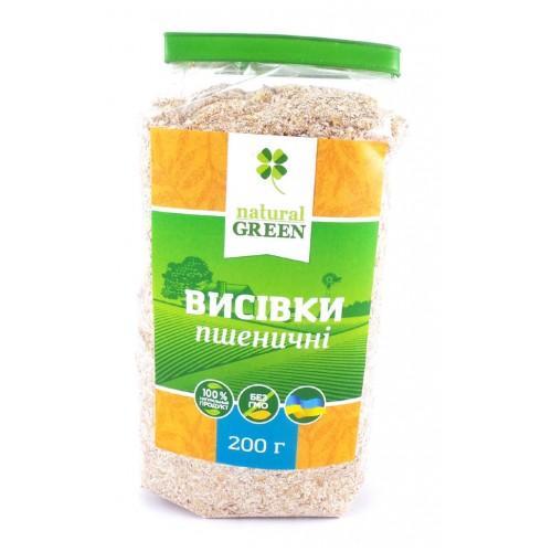 Отруби пшеничные Natural Green 200г