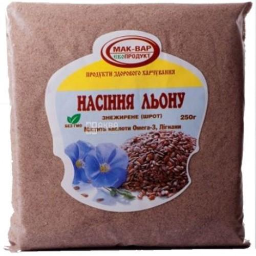 Шрот семян льна Мак-Вар 200г