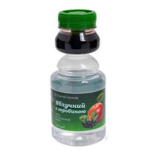 Сок яблочный с черноплодной рябиной Оми Зелена Сова 250мл