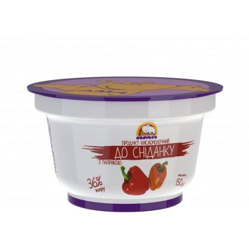 Продукт кисломолочний До сніданку З паприкою 36% АМА 150г