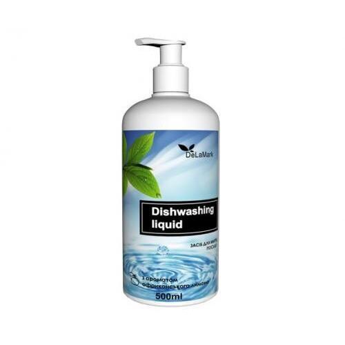Средство для мытья посуды  с ароматом африканского лимона Delamark 500мл