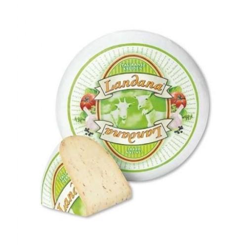 Сир козячий з італійськими травами 50% Landana