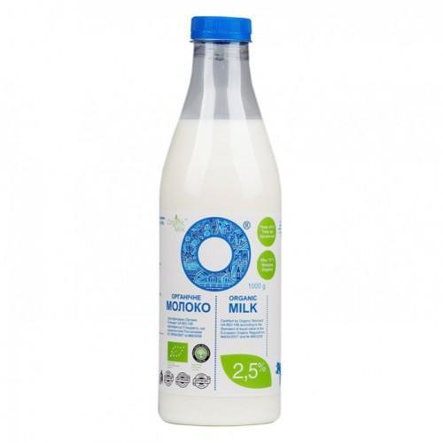 Молоко органическое 2,5%  OrganicMilk 1л