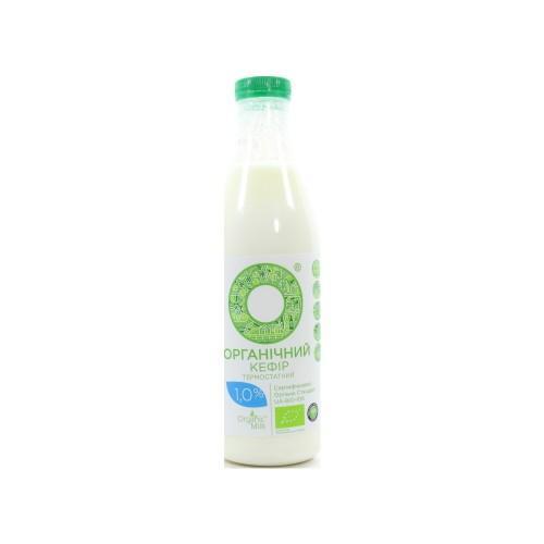Кефир органический 1,0% OrganicMilk 1л