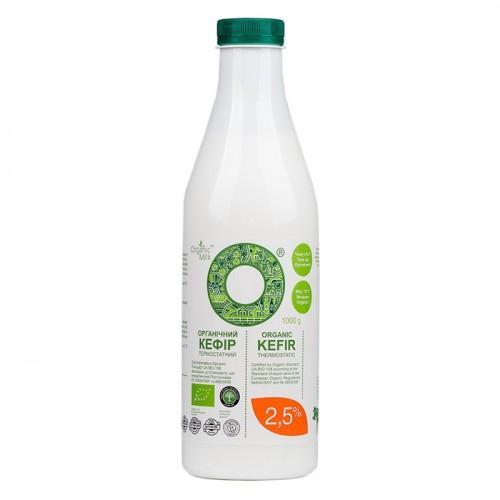 Кефир органический 2,5%  OrganicMilk  1л