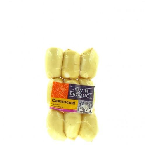 Сардельки Савинські в/г Savin Product