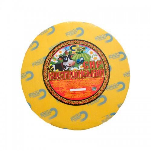Сир твердий Костромський 45% Степной