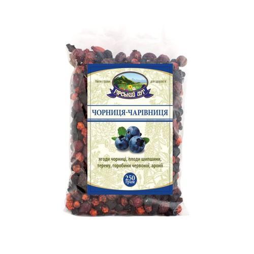 Натуральний трав'яний чай Чорниця-чарівниця Гірський луг 250 г