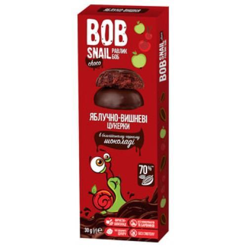 Конфеты натуральные Яблочно-вишневые Bob Snail - Равлик Боб 30г
