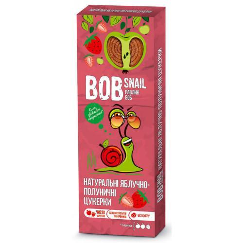 Конфеты натуральные Яблочно-клубничные Bob Snail - Равлик Боб 30г
