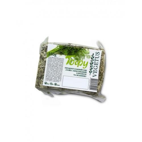 Тофу Пресований з кропом Vegetus 250г