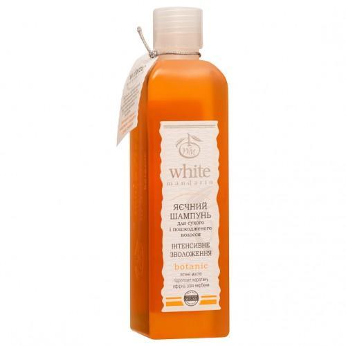 Шампунь для сухих и поврежденных волос Яичный  White Mandarin  250 мл