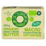 Масло органическое сливочное Крестьянское 74,5% OrganicMilk 200 г