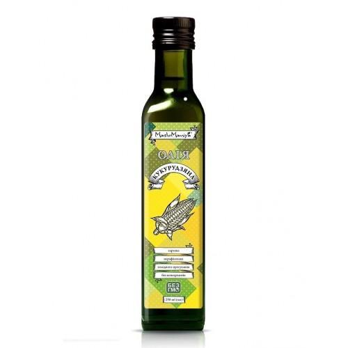 Олія кукурудзяна  MasloManiya 250мл