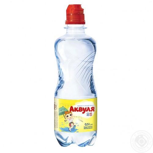 Вода детская Аквуля sport 500мл
