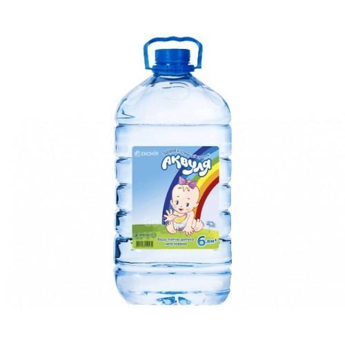 Вода детская Аквуля 6л