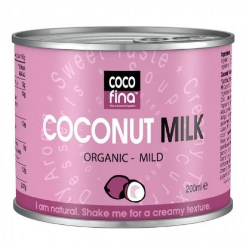 Сливки кокосовые Biologic 200мл