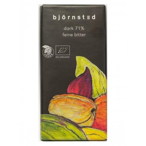 Шоколад чорний Bjornsted 71% Biologic 100г