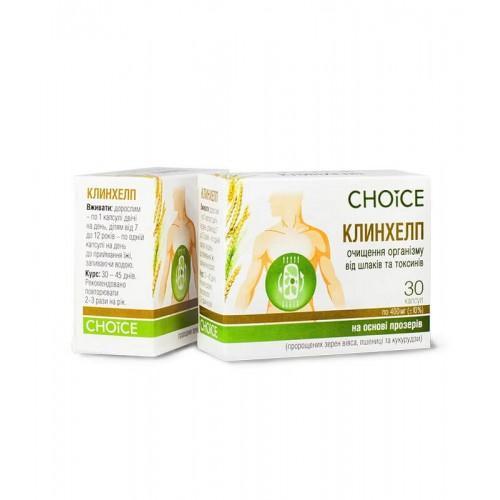 Фітокомплекс Клінхелп очищення організму Choice 30 кап.