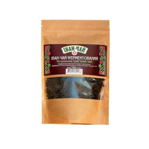 Натуральный травяной чай Иван-чай ферментированный 50г