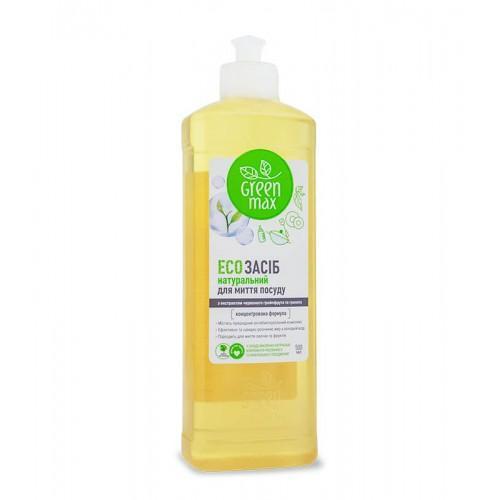 ЕСО средство для мытья посуды Green Max 500 мл