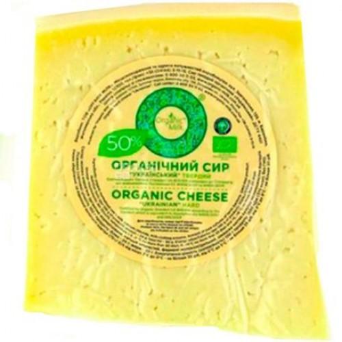 Сир твердий Український 50% OrganicMilk