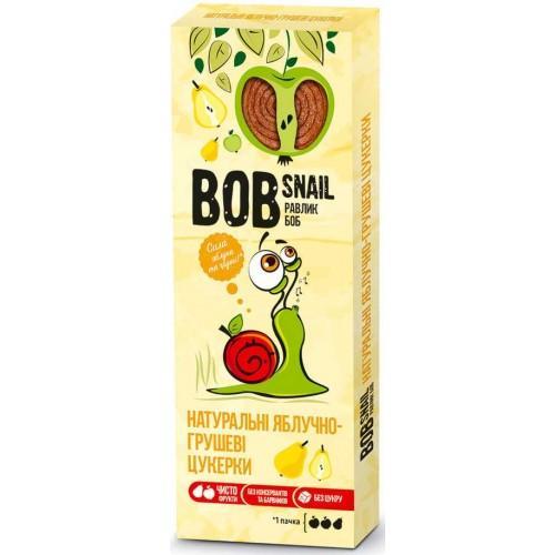 Конфеты натуральные Яблочно-грушевые Bob Snail - Равлик Боб 30г
