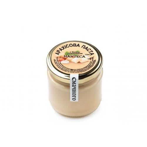 Паста арахисовая с белым шоколадом MANTeca 180г