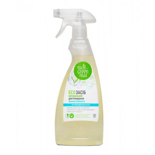 ЕСО средство для чистки ванной комнаты Green Max 500 мл