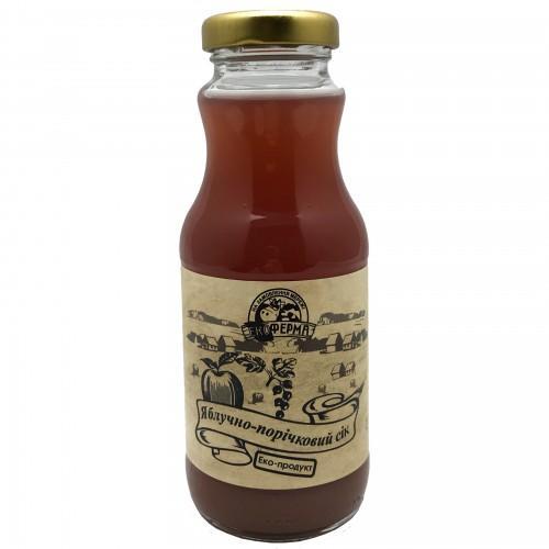 Сок яблочно-красносмородиновый Поділля 250мл