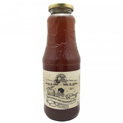 Сок яблочно-малиновый Поділля 1л