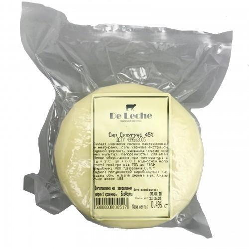 Сыр Сулугуни 45% DeLeche