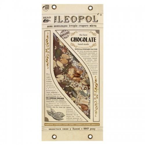 Шоколад молочний Горіх Leopol 95г