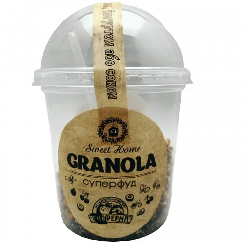 Гранола Суперфуд Sweet Home 80г стаканчик