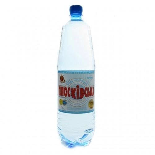 Вода мінеральна природна негазована  Плосківська 1,5л