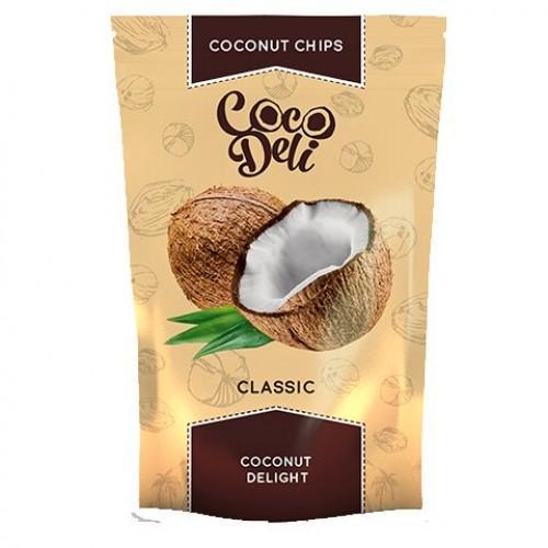 Чіпси Кокосові солодкі Coco Deli 30г