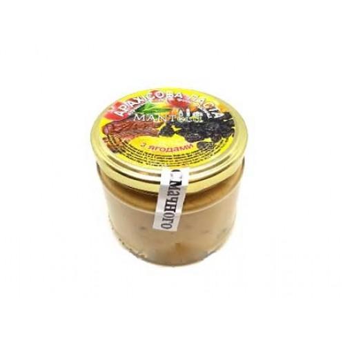 Паста арахісова з ягодами MANTeca 180г