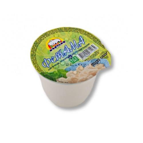 Сир м'який, збагачений молочним білком ФетАМА 18% АМА 250г