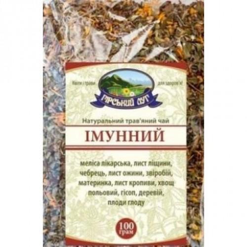Натуральный травяной чай Иммунный Гірський луг 100г