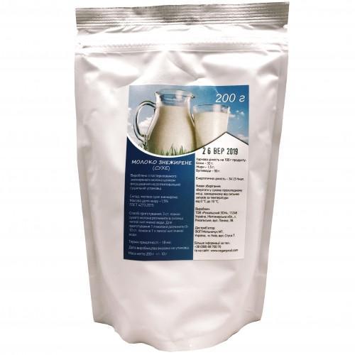Молоко сухое обезжиренное Vegan Prod 250г
