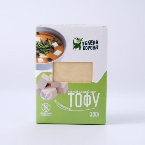 Сыр тофу классический Зелена Корова 300г