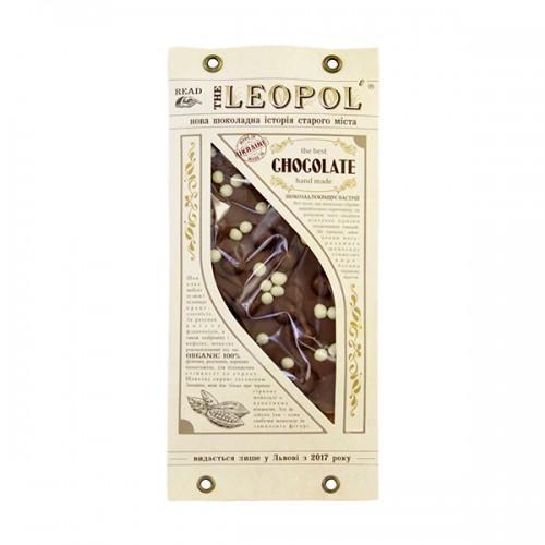 Шоколад молочний Бабл Leopol 95г
