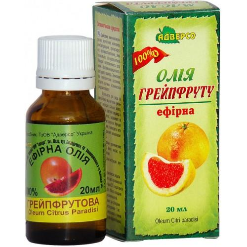Масло эфирное Грейпфрута, Адверсо 10мл