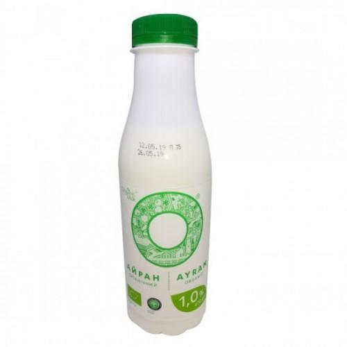 Напиток кисломолочный Айран 1,0% OrganicMilk 470г