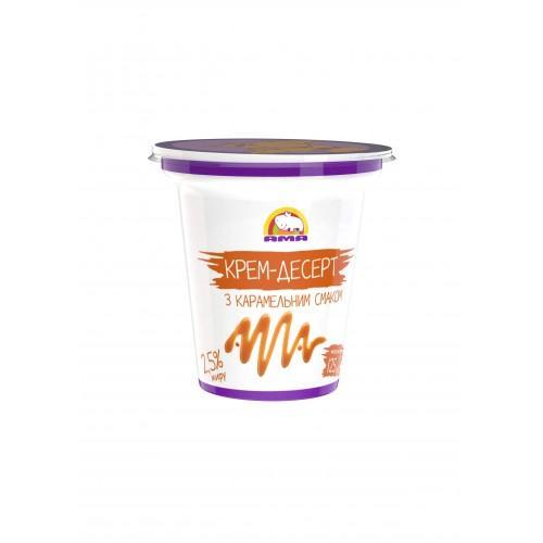 Десерт кисломолочный с карамельным вкусом 4% АМА 125г